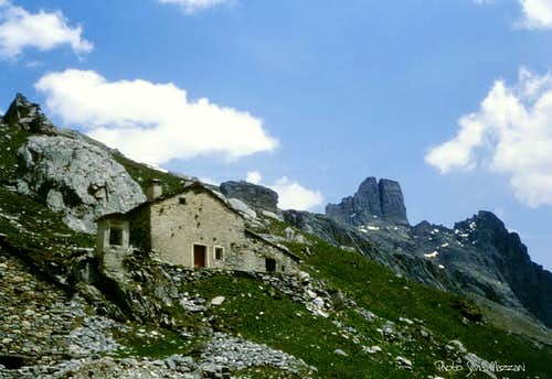 Ancient alps round about Castello Provenzale Group