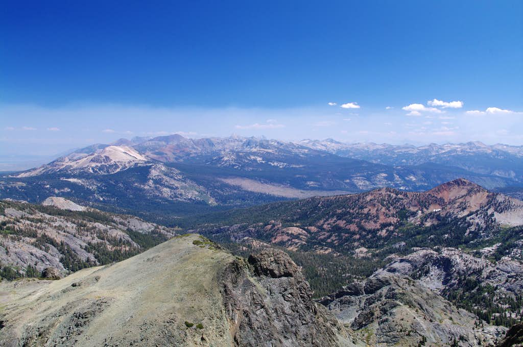 looking east-southeast from Volcanic Ridge