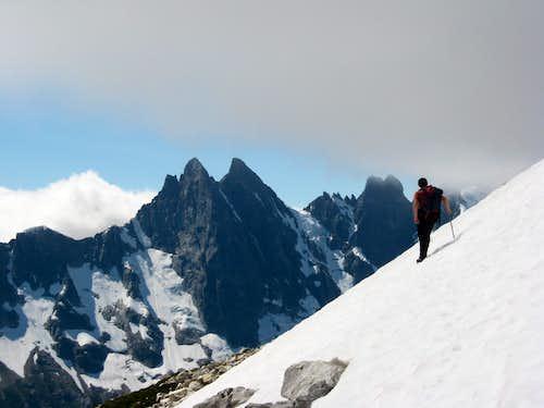 Josh Lewis Touching the Clouds on Luna Peak