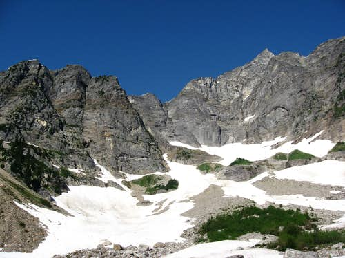 Luna Peak Above Access Creek Basin