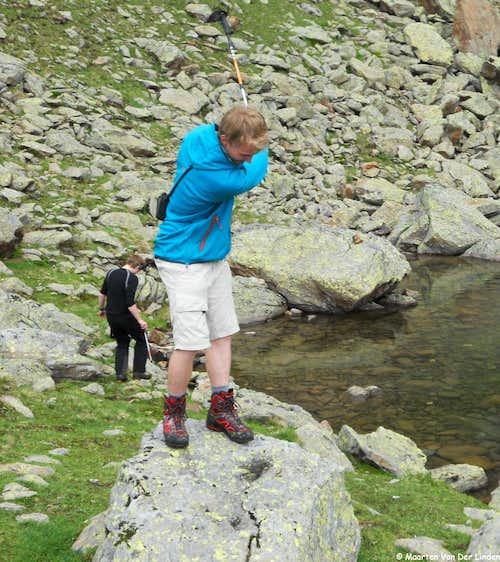 High mountain golf :)