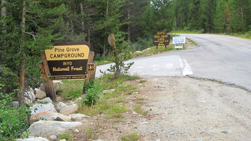 Pine Grove Trailhead