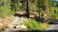 Rock Creek Lake trailhead