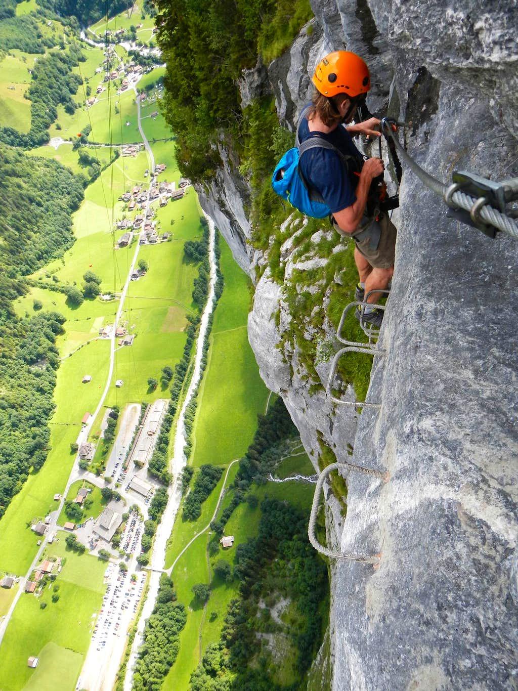 Above Stechelberg