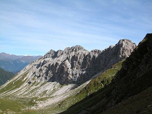 Liköflwand (2421m), one of...