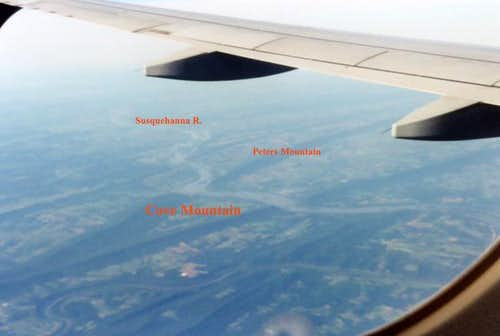 Taken from the window seat on...