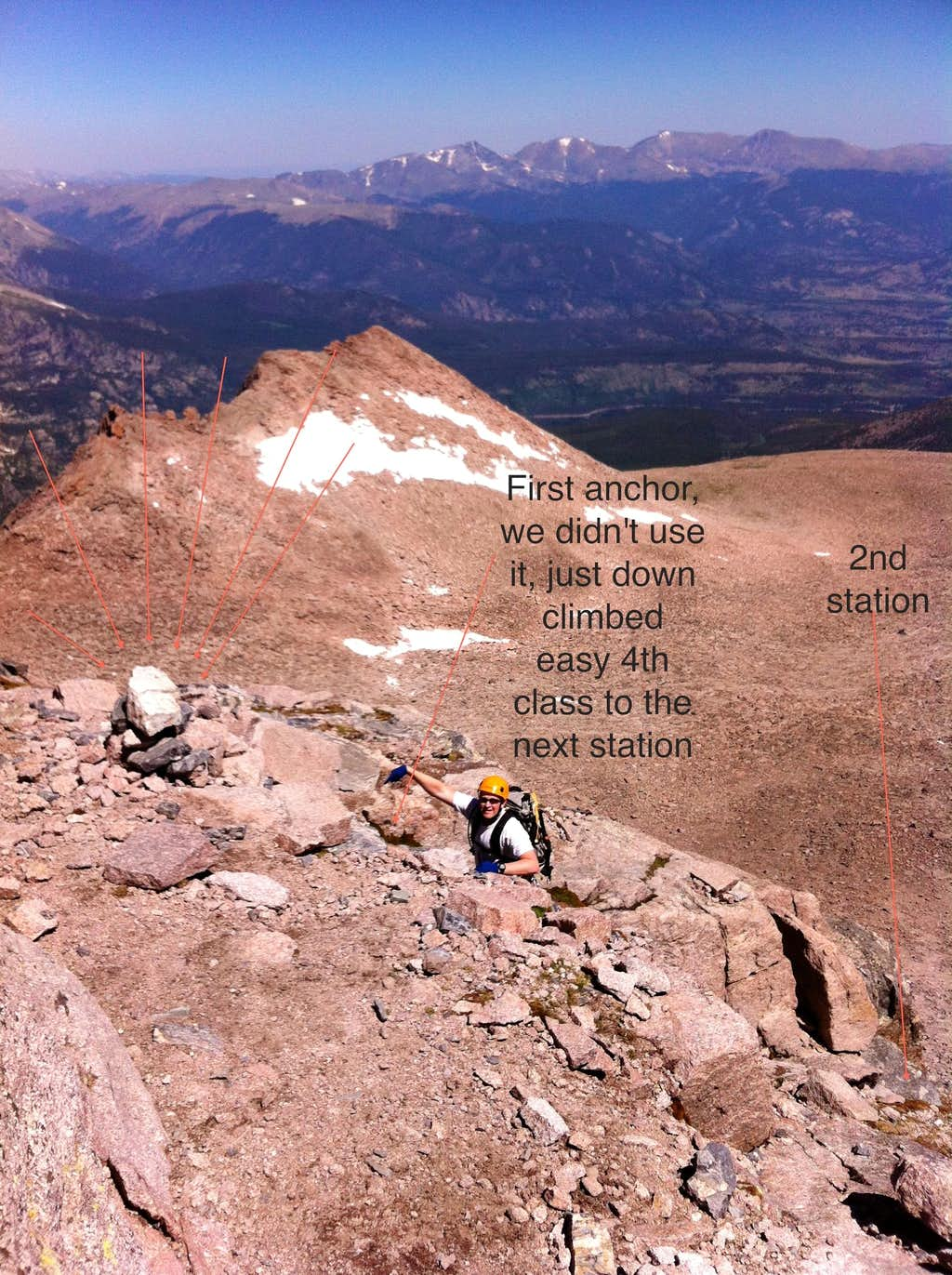 Kiener to Cable route descent
