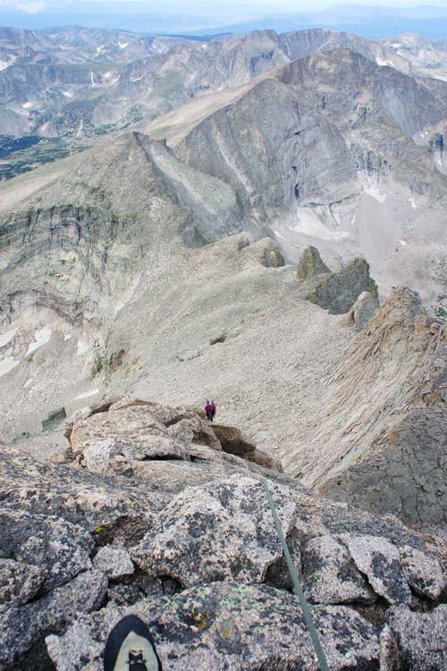 Longs Peak - West Ridge