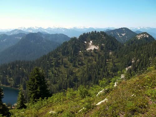 Looking towards Stevens Pass