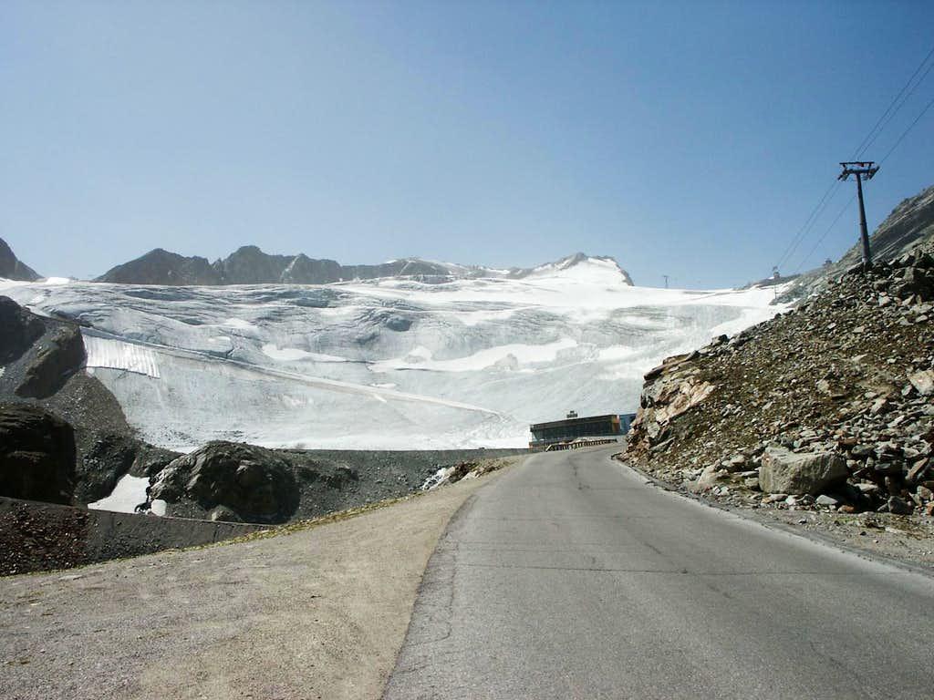 Innere Schwarze Schneid and Rettenbach Glacier