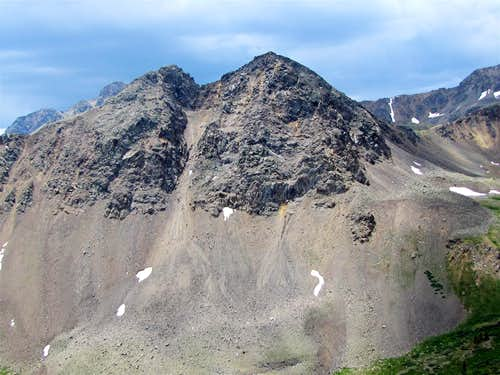 North face of Larson Peak