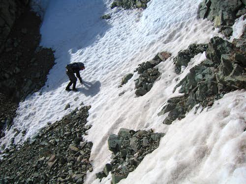The gully on Lindsey