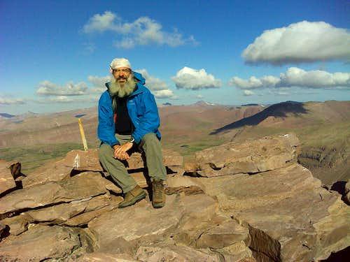 Me sitting on King's Peak