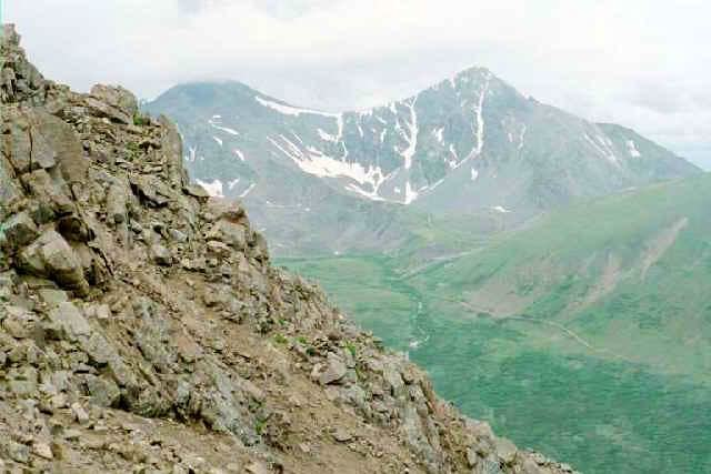 Grays Peak and Torreys Peak...