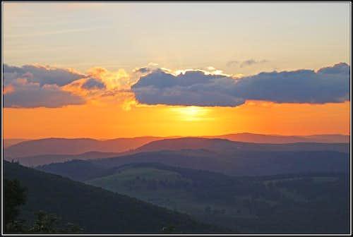 Grand Ballon sunset