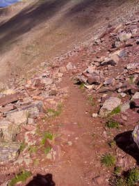 Trail to Anderson Pass