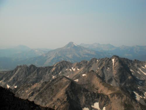 Lone Peak and the Sphynx
