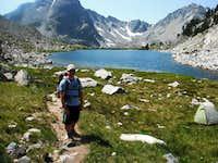 Ben at Summit Lake