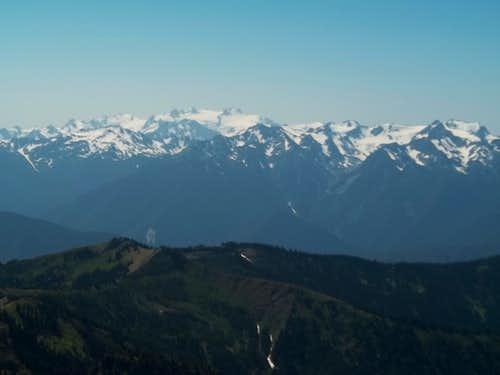 Mount Olympus closeup