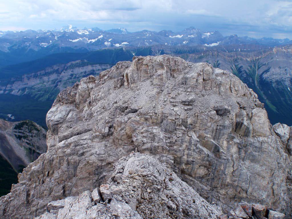 West Summit of Mt. Packenham