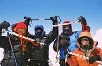Girls on Elbrus Summit