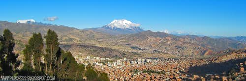 Mururata and Illimani