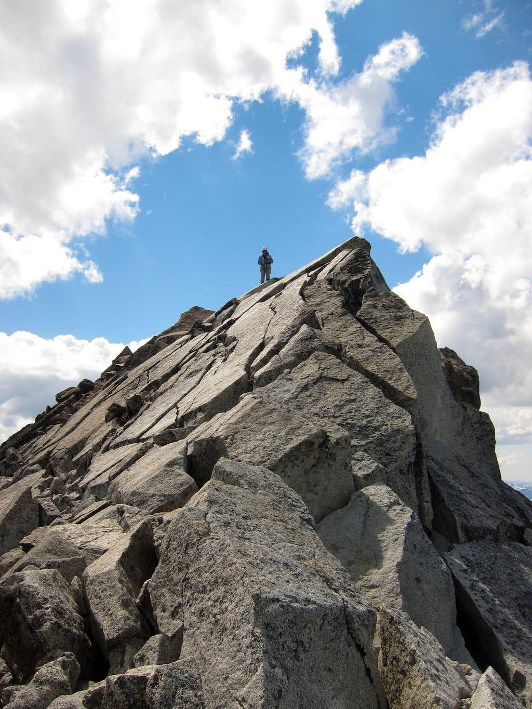 Summit of Mount Stuart