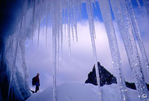 Bugaboos icecave