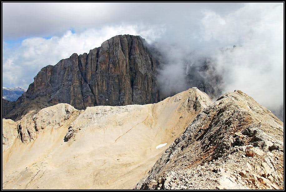 Marmolada from Sasso Vernale