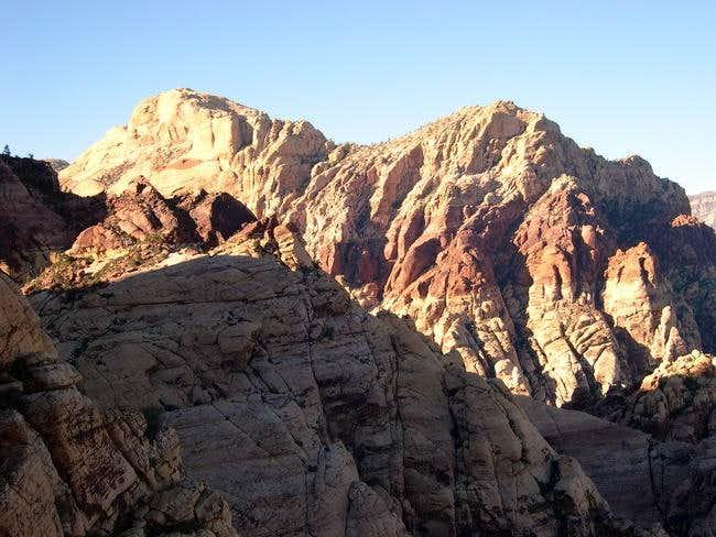 Bridge Mountain as seen from...