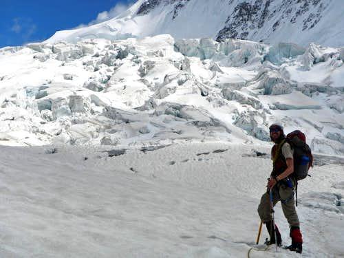 Grenz Glacier Icefall
