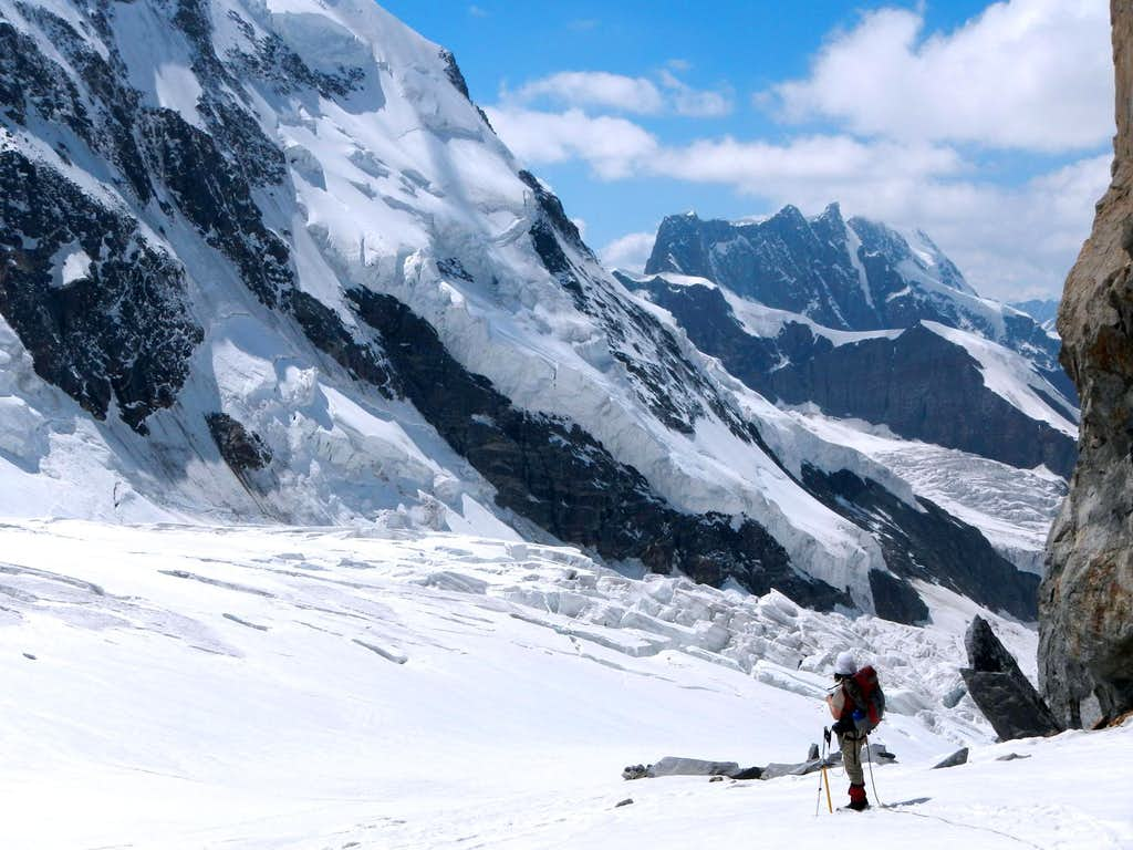Grenz Glacier Crevasse Fall