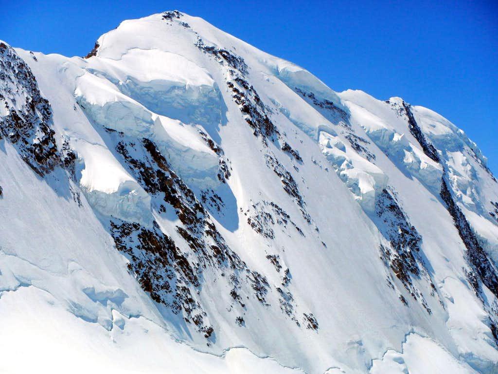 Lyskamm - Hanging Glaciers