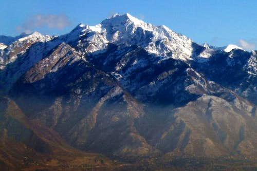 Broads Fork massif. Taken...