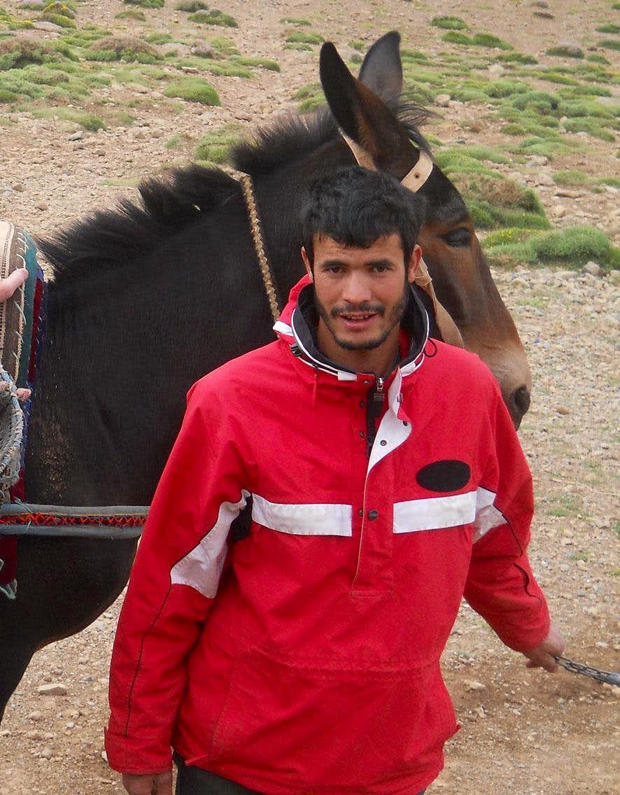 Mule & driver Ighil Mgoun