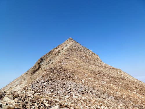 Ruby Dome seen from the summit of Ruby Pyramid