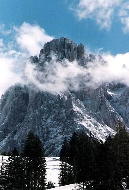 Sassolungo from Alpe di Siusi
