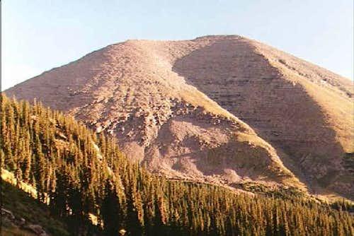Humboldt Peak taken from the...
