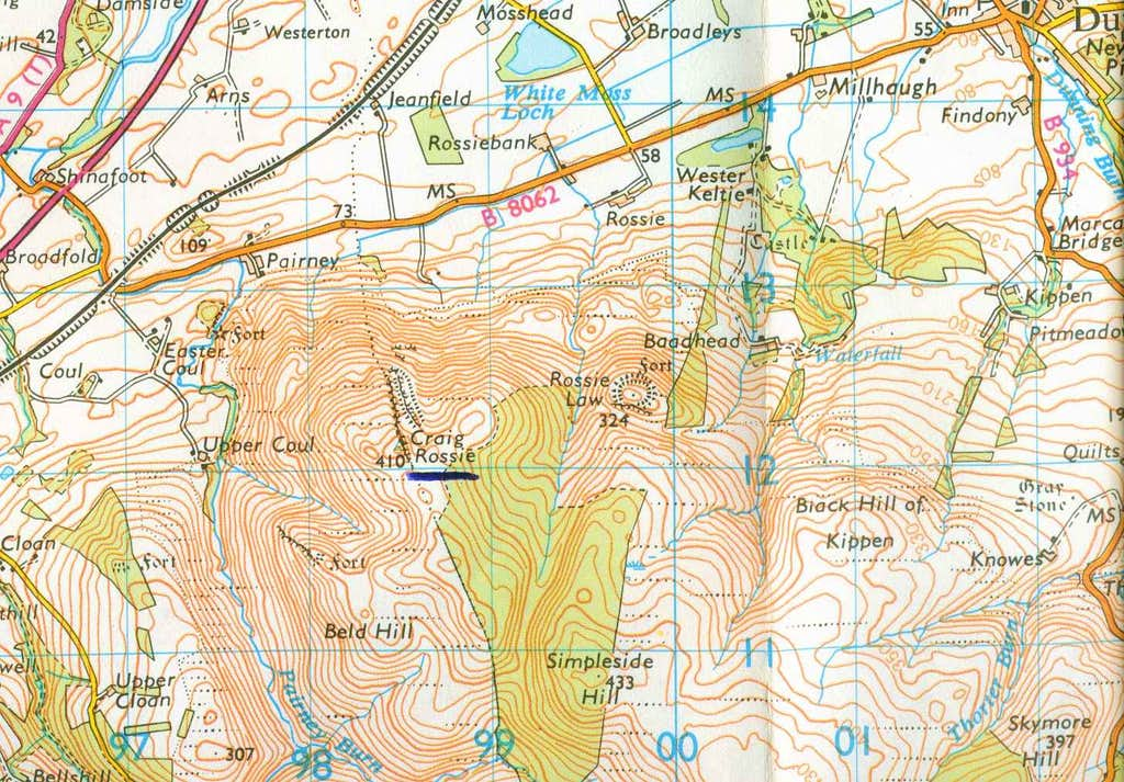 Rossie Map