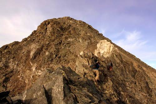 Kelso ridge scrambling