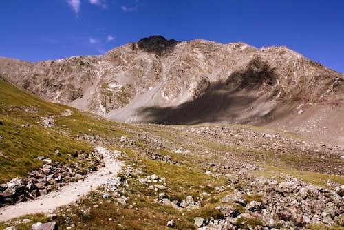 Torreys Peak from Stevens Gulch Trail