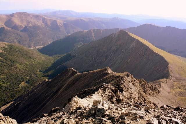 Knife Edge and Kelso Mountain