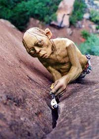 Even Gollum uses cams
