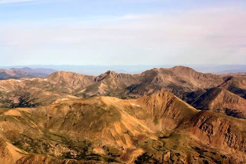 Mount Sniktau from Torreys Peak