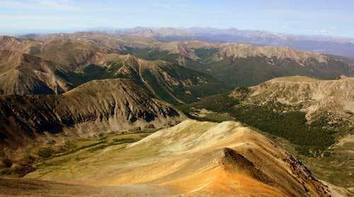 Cooper Mountain and Ruby Mountain Ridge