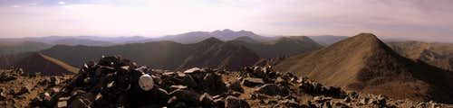 Torreys Peak summit Panoramic View