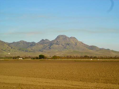 The Sutter Buttes Range from...