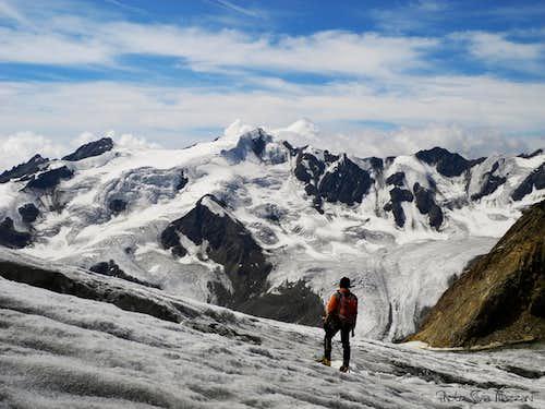 Thirteen summits' traverse West section
