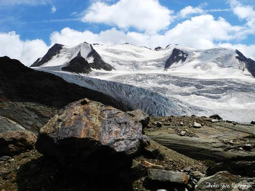 Thirteen summits' middle part and Vedretta dei Forni