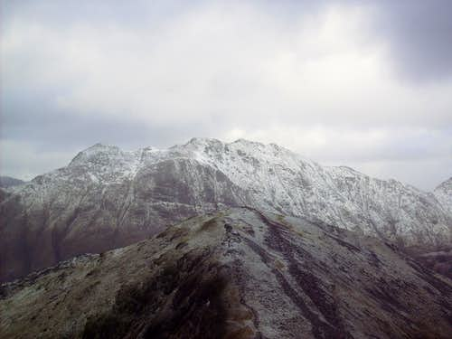 Southerly View of Bidean nam Bian